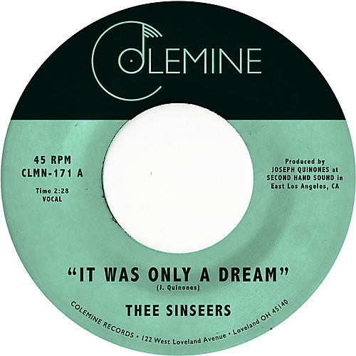 Alliance Thee Sinseers - It Was Only A Dream