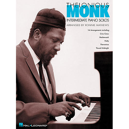 Hal Leonard Thelonious Monk - Intermediate Piano Solos Artist Transcriptions (Intermediate)