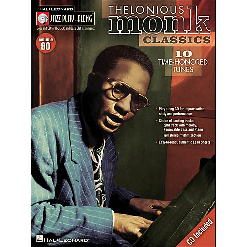 Hal Leonard Thelonious Monk Classics - Jazz Play-Along Volume 90 (CD/Pkg)