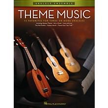 Hal Leonard Theme Music (Ukulele Ensembles Early Intermediate) Ukulele Ensemble Series Softcover