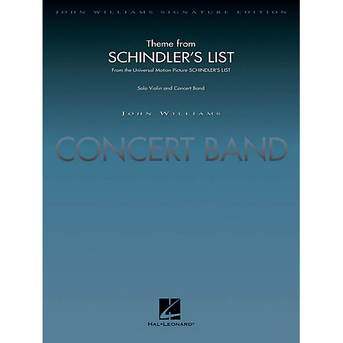 Hal Leonard Theme from Schindler's List (Score and Parts) Concert Band Level 5 Arranged by John Moss