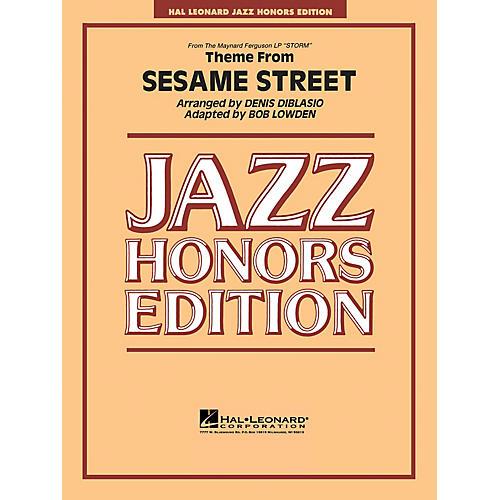 Hal Leonard Theme from Sesame Street Jazz Band Level 5 Arranged by Bob Lowden