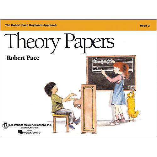 Hal Leonard Theory Papers Book 2, Piano Revised, The Robert Pace Keyboard Approach