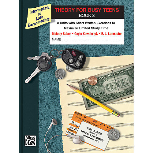 Alfred Theory for Busy Teens Book 3