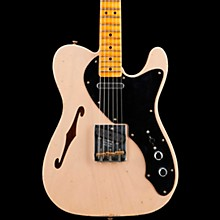 Thinline Loaded Relic Nocaster Electric Guitar Aged Dirty White Blonde