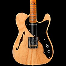 Thinline Loaded Relic Nocaster Electric Guitar Aged Natural