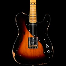 Thinline Loaded Relic Nocaster Electric Guitar Wide Fade 2-Color Sunburst