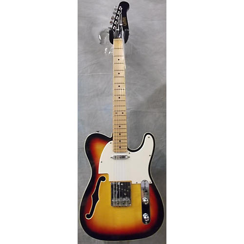 Corbin Thinline T-Style Hollow Body Electric Guitar