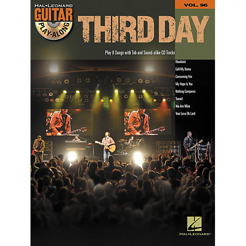 Hal Leonard Third Day - Guitar Play-Along, Volume 96 (CD/Book)
