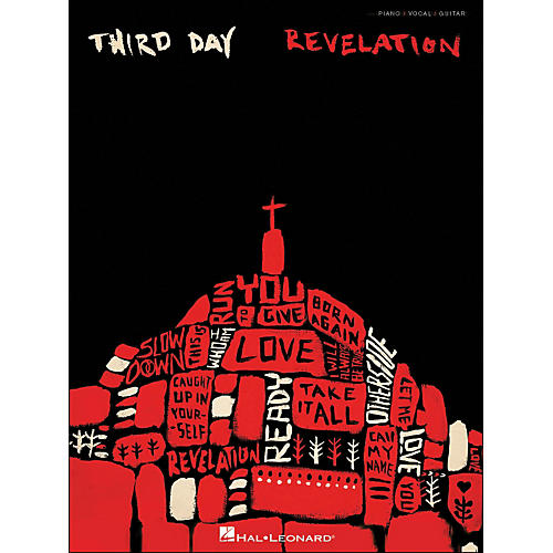 Hal Leonard Third Day Revelation arranged for piano, vocal, and guitar (P/V/G)