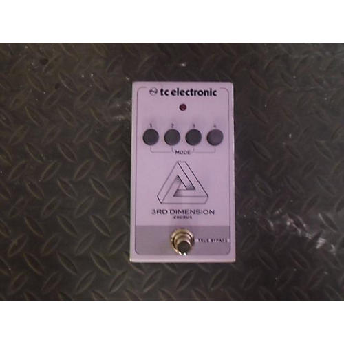 TC Electronic Third Dimension Effect Pedal
