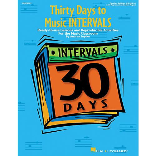 Hal Leonard Thirty Days to Music Intervals