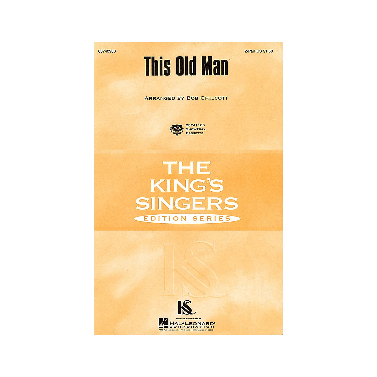 Hal Leonard This Old Man SSAA by The King's Singers Arranged by Bob Chilcott