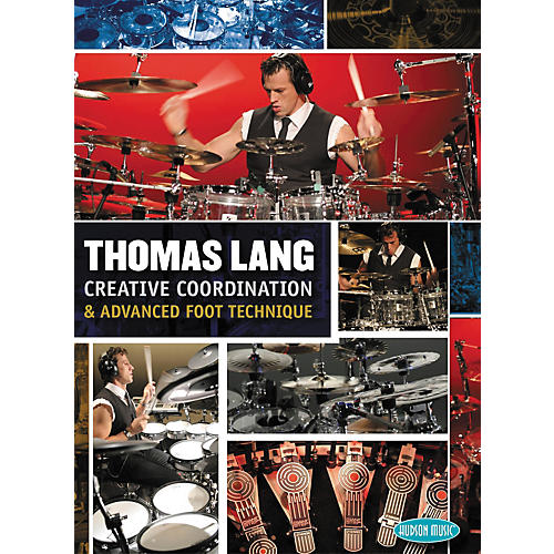 Hudson Music Thomas Lang Creative Coordination And Advanced Foot Technique 3-DVD Set