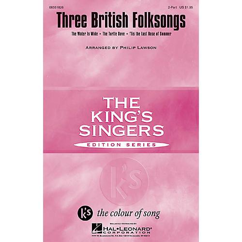 Hal Leonard Three British Folksongs 2-Part arranged by Philip Lawson
