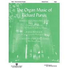 H.T. FitzSimons Company Three Christmas Preludes (Organ) Organ