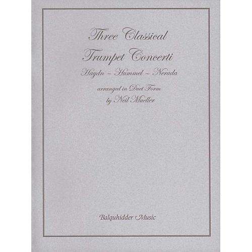 Carl Fischer Three Classic Trumpet Concertos Book