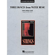 Hal Leonard Three Dances from Water Music Music for String Orchestra Series Softcover Arranged by John Leavitt