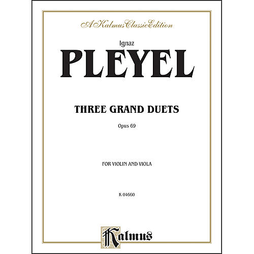 Alfred Three Grand Duets Op. 69