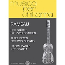 Editio Musica Budapest Three Pieces (Guitar Duo) EMB Series Composed by Jean-Philippe Rameau