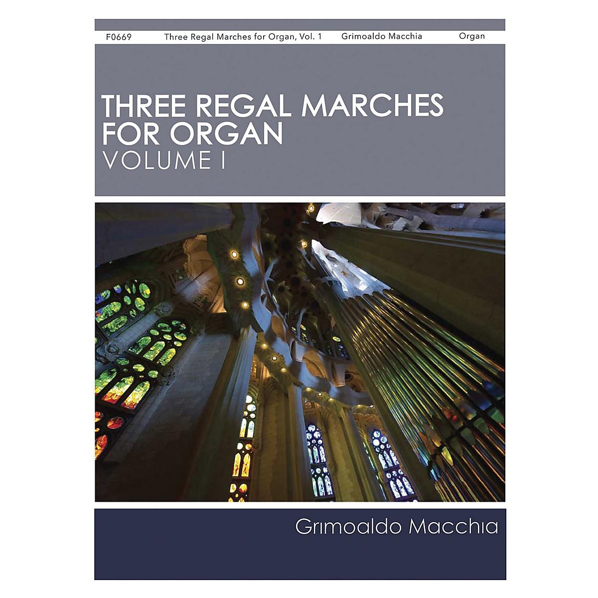 H.T. FitzSimons Company Three Regal Marches for Organ, Vol. 1 composed by Grimoaldo Macchia