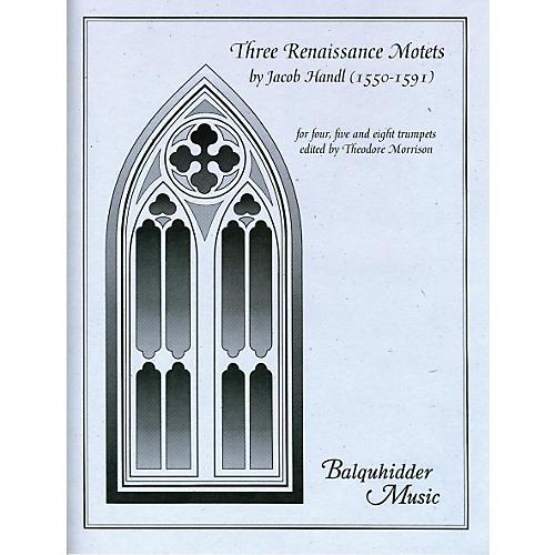 Carl Fischer Three Renaissance Motets Book