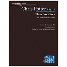 Carl Fischer Three Vocalises-Bass Fl & Pno
