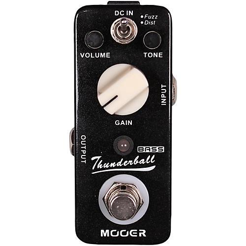 mooer thunderball micro fuzz distortion bass guitar effects pedal guitar center. Black Bedroom Furniture Sets. Home Design Ideas