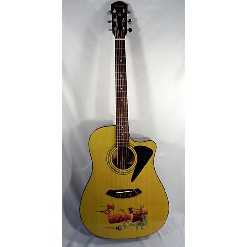 Fender Tiki Drummer Acoustic Electric Guitar