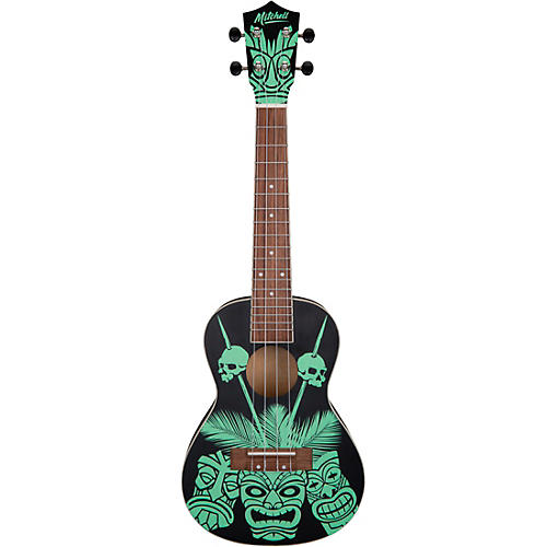 Mitchell Tiki Glow In The Dark Ukulele