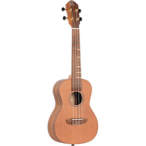Ortega Timber Series RUTI-CC-L Left-Handed Concert Ukulele