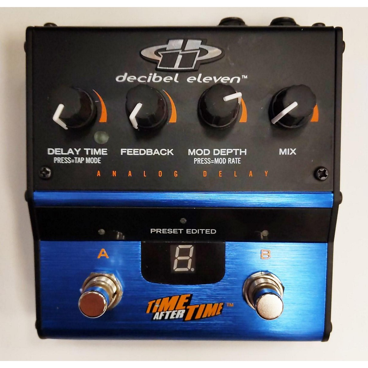 Decibel Eleven Time After Time Analog Effect Pedal