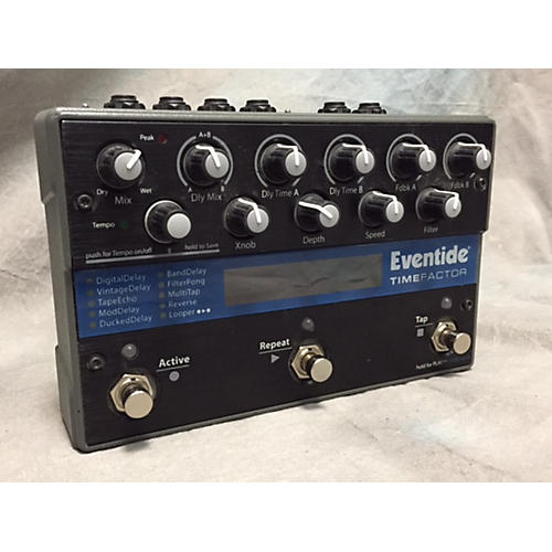 Eventide Time Factor Delay Effect Pedal