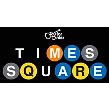 Guitar Center Time Square Metro Sticker