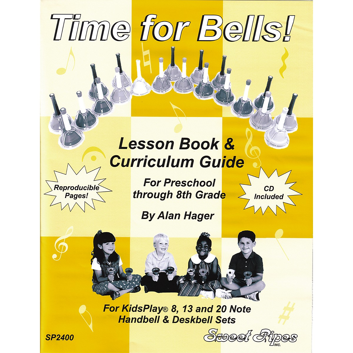 Sweet Pipes Time for Bells - Handbell Lesson Book