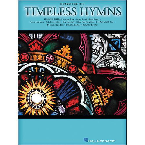 Hal Leonard Timeless Hymns - Beginning Piano Solos