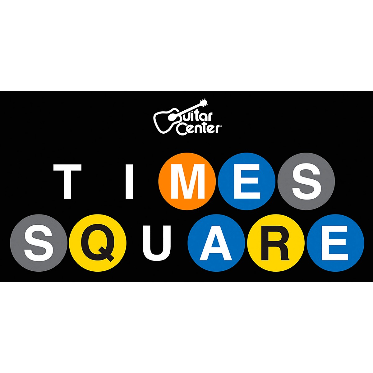 Guitar Center Times Square Metro Magnet