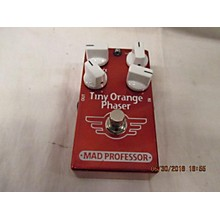 Mad Professor Tiny Orange Phaser Effect Pedal