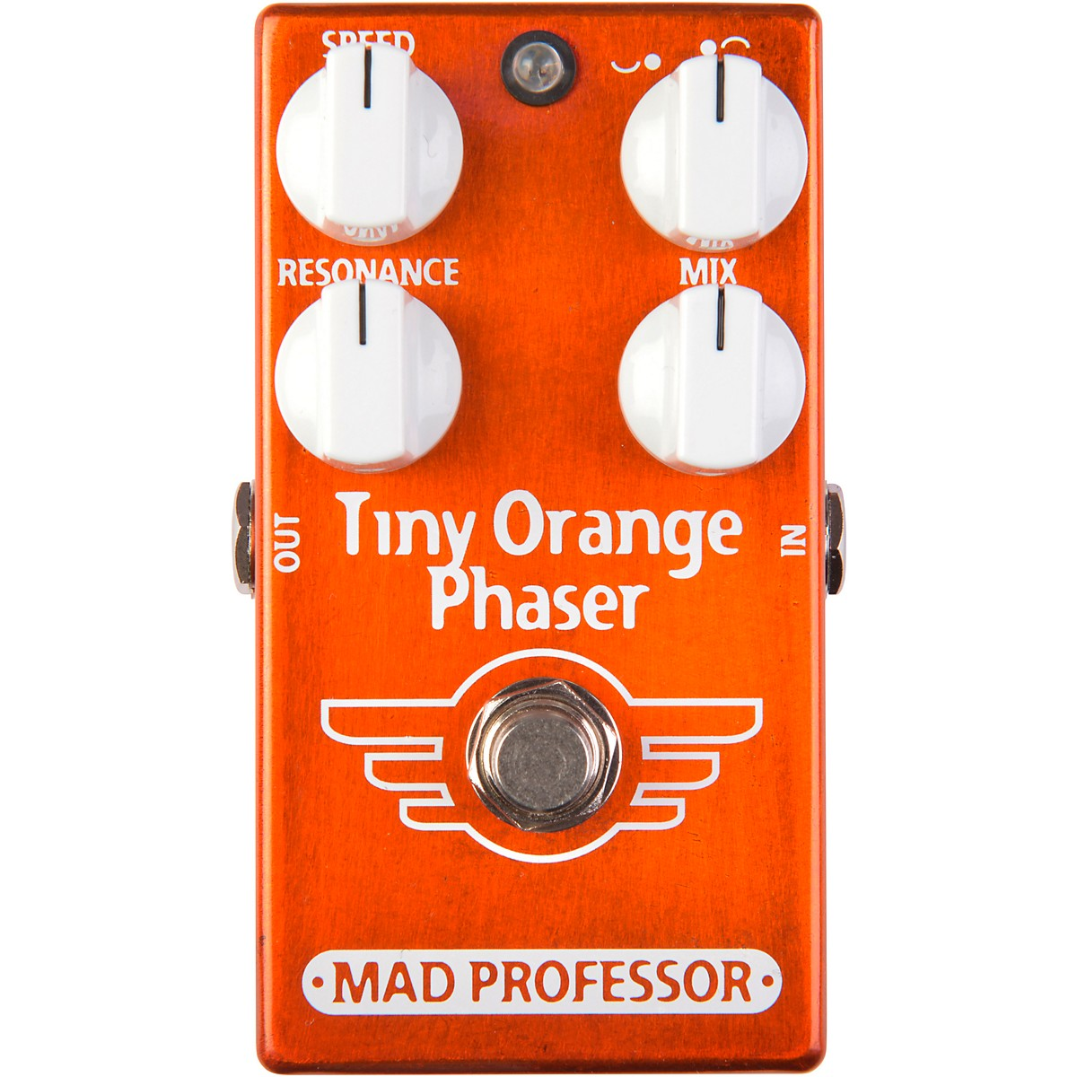 Mad Professor Tiny Orange Phaser Effects Pedal