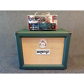 used orange amplifiers tiny terror custom shop 10th anniversary tube guitar amp head guitar center. Black Bedroom Furniture Sets. Home Design Ideas