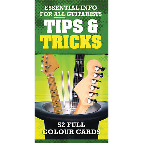 Music Sales Tips And Tricks - Essential Info For All Guitarists 52 Full Color Cards
