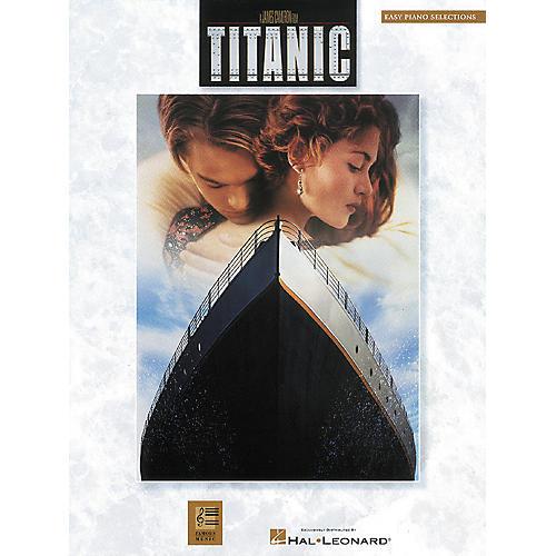 Hal Leonard Titanic Movie Selections For Easy Piano