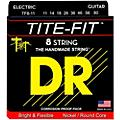 DR Strings Tite-Fit Nickel Plated Extra Heavy 8-String Electric Guitar Strings (11-80) thumbnail