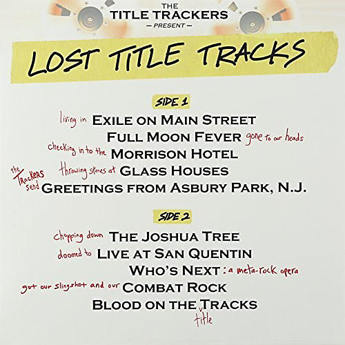 Alliance Title Trackers - Lost Title Tracks