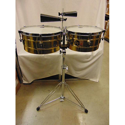 LP Tito Puente Brass Timbales Timbales