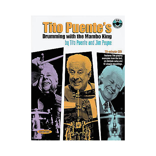 Hal Leonard Tito Puente's Drumming with the Mambo King Book/CD