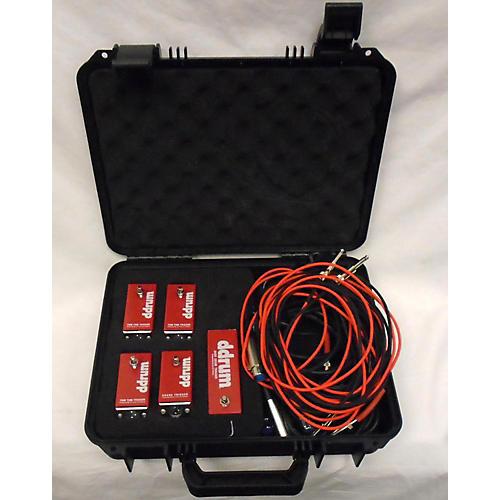 Ddrum Tkit 5pc Acoustic Pro Trigger Kit Acoustic Drum Trigger