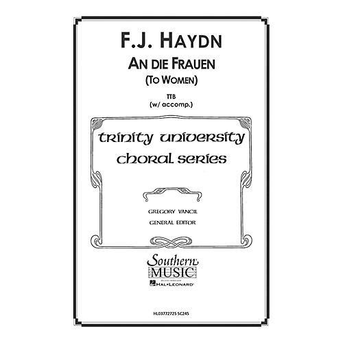 Hal Leonard To Women ( An Die Frauen) (Choral Music/Octavo Secular Ttb) TTB Arranged by Gregory Vancil