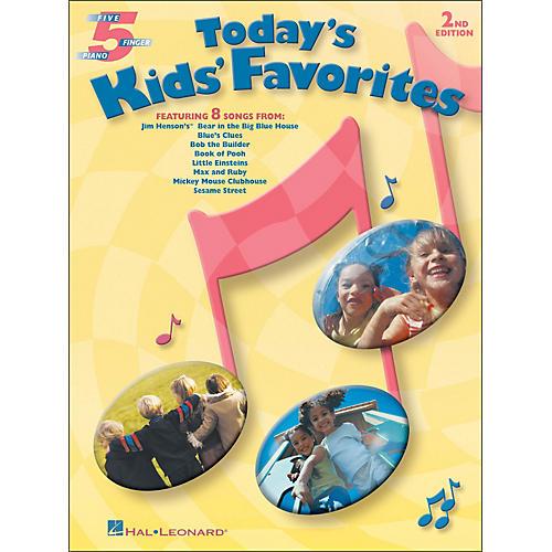 Hal Leonard Today's Kids' Favorites for Five Finger Piano