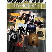 Hal Leonard Today's Piano Greats Piano Instruction Series Softcover with CD Written by Todd Lowry